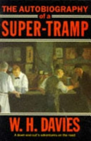 The Autobiography of a Super-Tramp - Oxford University Press 1980 cover