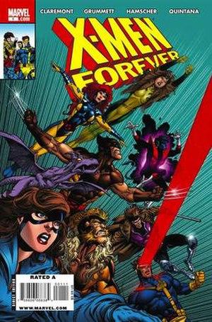 X-Men Forever - Image: X Men Forever 1 cover