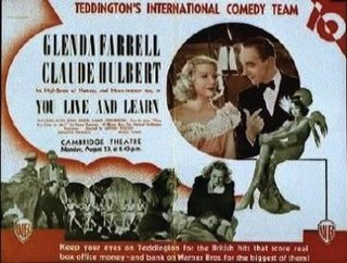 <i>You Live and Learn</i> 1937 film by Arthur B. Woods