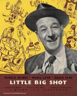 <i>Little Big Shot</i> (1952 film) 1952 film by Jack Raymond