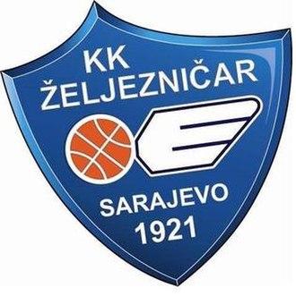ŽKK Željezničar Sarajevo - Image: ŽKK Željezničar Sarajevo logo