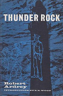 <i>Thunder Rock</i> (play) play written by Robert Ardrey
