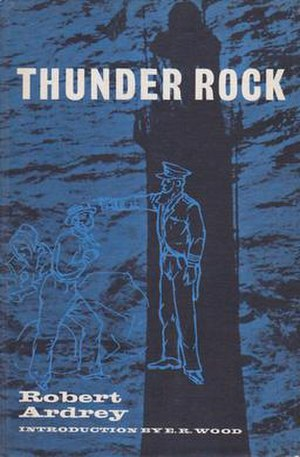 Thunder Rock (play) - Image: 1966 playbill for Robert Ardrey's Thunder Rock