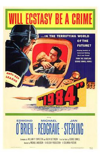 1984 (1956 film) - Theatrical release poster