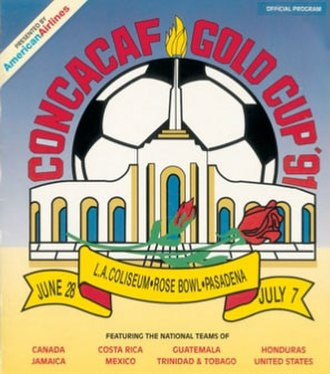 1991 CONCACAF Gold Cup - Image: 1991 CONCACAF Gold Cup logo