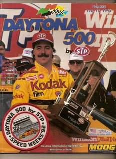 1992 Daytona 500 Auto race held at Daytona International Speedway in 1992