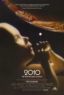 <i>2010: The Year We Make Contact</i> 1984 science fiction movie directed by Peter Hyams