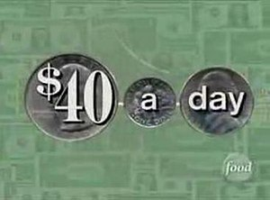 $40 a Day - Title card from 2002 to 2003