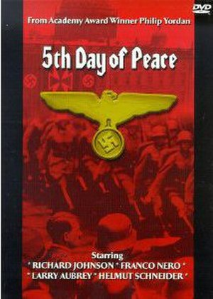 The Fifth Day of Peace - English version DVD cover