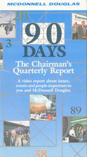 90 Days - 90 Days VHS box cover from episode Number 6