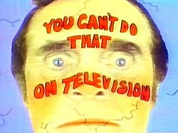 You Cant Do That On Television Wikipedia