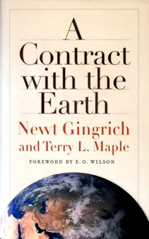 A Contract with the Earth - 2007 Hardcover edition