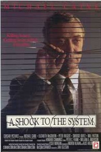 A Shock to the System (1990 film) - Image: A Shock to the System poster