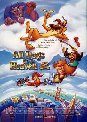 All Dogs Go to Heaven 2 - Theatrical release poster