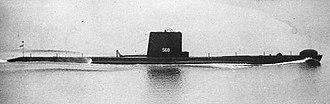 HMS Ambush (P418) - Image: Ambush s 68