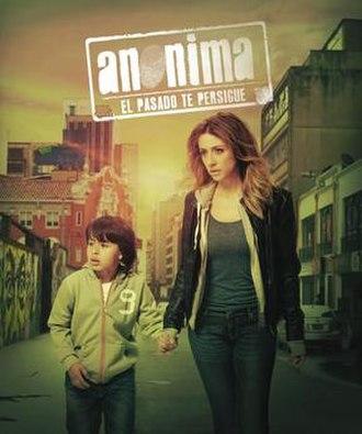 Anónima - Image: Anónima póster