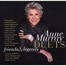 Anne Murray Duets: Friends & Legends - Wikipedia