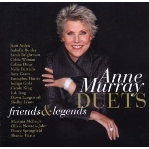 Anne Murray Duets: Friends & Legends - Image: Anne Murray Duets
