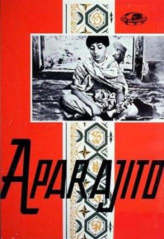 Aparajito - A poster of Aparajito