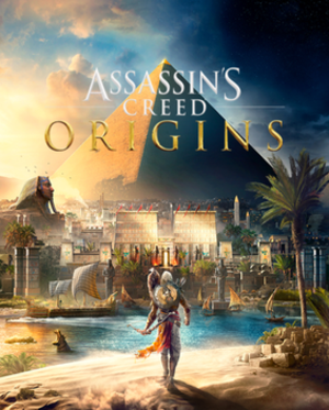 Assassin's Creed Origins - Image: Assassin's Creed Origins Cover Art