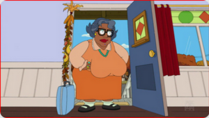 A Brown Thanksgiving - Auntie Momma arrives for Thanksgiving