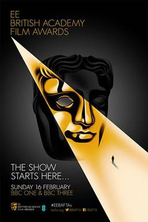 67th British Academy Film Awards - Image: BAFTA Film Awards Poster 2014