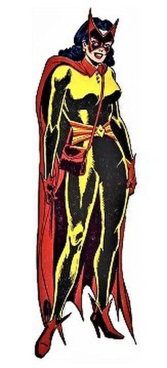 Batwoman - Batwoman (Kathy Kane). Art by Dick Giordano.