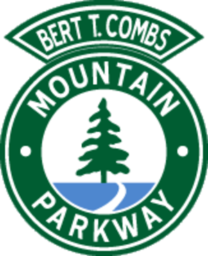 Bert T. Combs Mountain Parkway - The Mountain Parkway used a circular shield used until the 2000s.