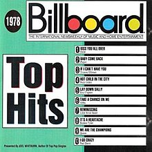 billboard top hits 1978 wikipedia