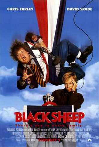 Black Sheep (1996 film) - Theatrical release poster