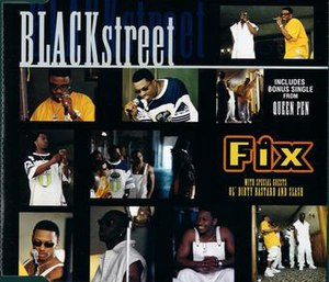 Fix (song) - Image: Blackstreet Fix single cover