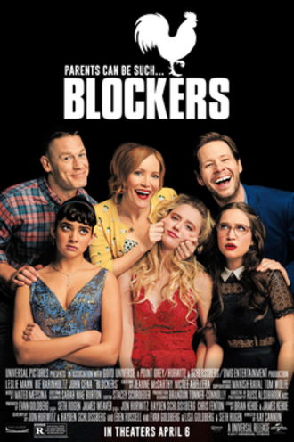 Blockers (film) - Theatrical release poster