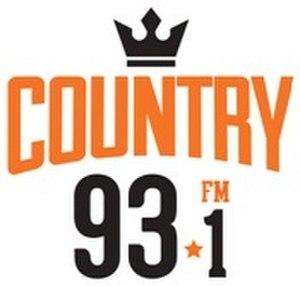 CHPO-FM - Image: CHPO country 93.1 logo