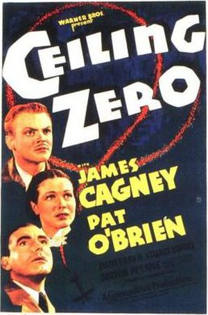Ceiling Zero - Theatrical Film Poster