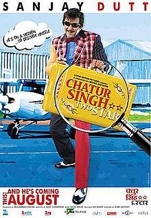 Chatur Singh Two Star (2011) SL YT - Sanjay Dutt, Amisha Patel, Suresh Menon, Anupam Kher, Satish Kaushik, Vishwajeet Pradhan, Murli Sharma, Gulshan Grover, Ganesh Yadav, Snehal Dabi, Arun Verma, Shashi Kiran, Mushtaq Khan, Shakti Kapoor