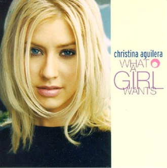 What a Girl Wants (Christina Aguilera song) - Image: Christina Aguilera What a Girl Wants CD cover