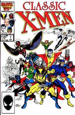 Classic X-Men - Image: Classic Xmen 01