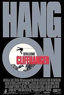 <i>Cliffhanger</i> (film) 1993 US action film directed by Renny Harlin