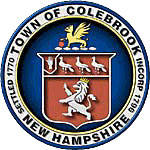 Official seal of Colebrook, New Hampshire