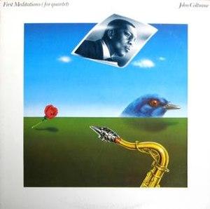 First Meditations (for quartet) - Image: Coltrane 1st Meditations LP