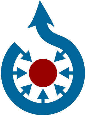 The Wikimedia Commons logo, SVG version.