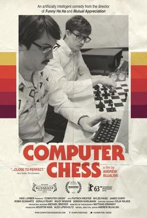 Computer Chess (film) - Theatrical release poster