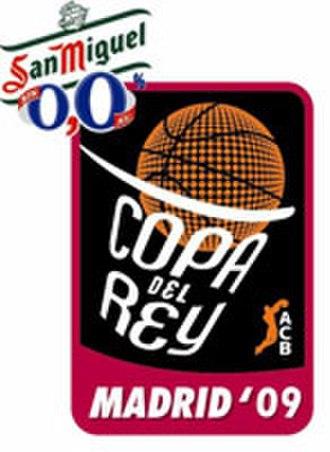 2009 Copa del Rey de Baloncesto - Image: Copa Rey Baloncesto 2009