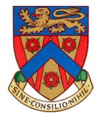 The County College, Lancaster - Image: County coat of arms 2