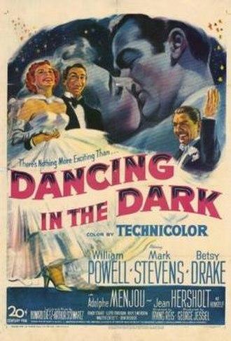 Dancing in the Dark (1949 film) - Theatrical Film Poster