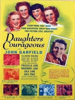 <i>Daughters Courageous</i> 1939 film by Michael Curtiz