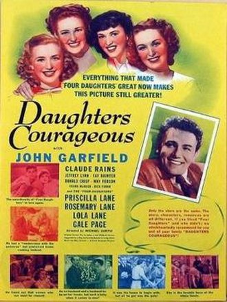 Daughters Courageous - Image: Daughters Courageous Film Poster