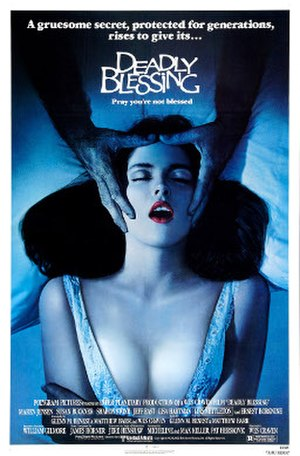 Deadly Blessing - Theatrical release poster