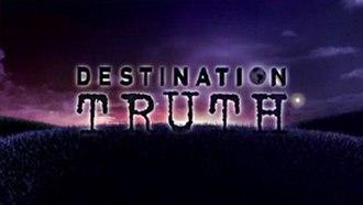 Destination Truth - Title screenshot of Season 3