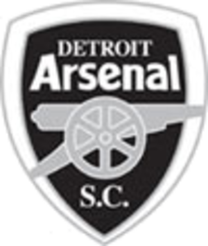 Detroit Arsenal (soccer) - Club crest